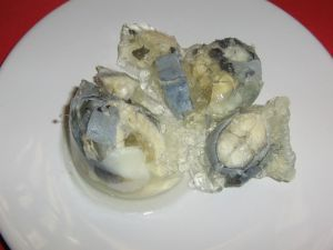 Jellied Eels. Good for somebody else.