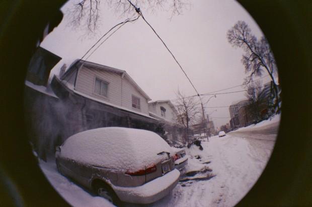 Stupid Crummy Snow. Grumble...