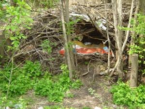 I wonder who lives here?